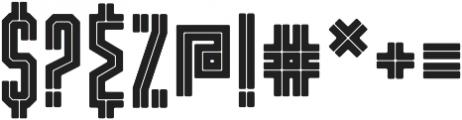 Dalmation Core otf (400) Font OTHER CHARS