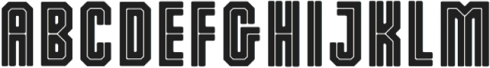 Dalmation Core otf (400) Font UPPERCASE