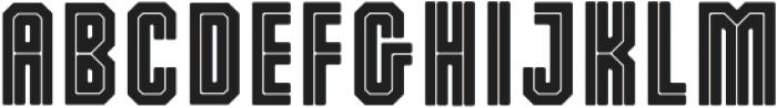 Dalmation Core ttf (400) Font UPPERCASE