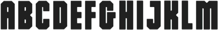 Dalmation Regular ttf (400) Font UPPERCASE