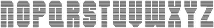 Dalmation Strips otf (400) Font LOWERCASE