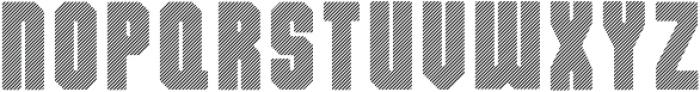 Dalmation XStrips otf (400) Font UPPERCASE