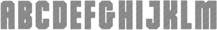 Dalmation XStrips otf (400) Font LOWERCASE