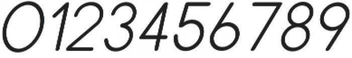 Dalton Semi Bold Italic otf (600) Font OTHER CHARS