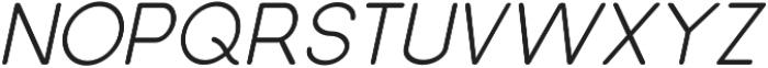 Dalton Semi Bold Italic otf (600) Font UPPERCASE