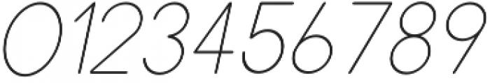 Dalton Thin Italic otf (100) Font OTHER CHARS