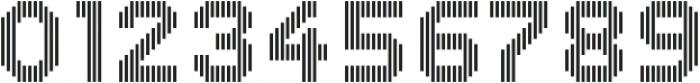 Dance Floor Big Vertical otf (400) Font OTHER CHARS