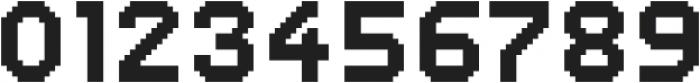 Dance Floor Bitmap otf (400) Font OTHER CHARS