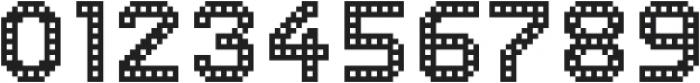 Dance Floor Building otf (400) Font OTHER CHARS