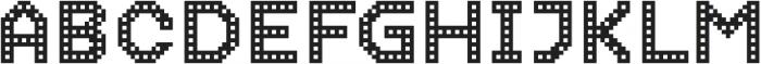Dance Floor Building otf (400) Font UPPERCASE