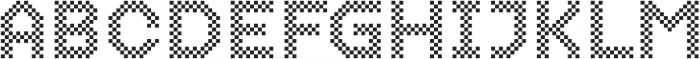 Dance Floor Chess otf (400) Font UPPERCASE
