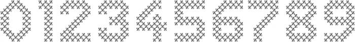 Dance Floor Diagonal otf (400) Font OTHER CHARS