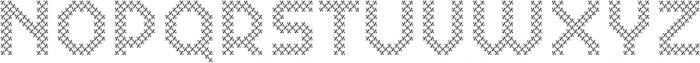 Dance Floor Diagonal otf (400) Font UPPERCASE