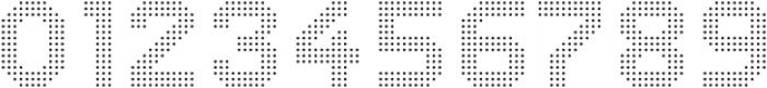 Dance Floor Dots otf (400) Font OTHER CHARS