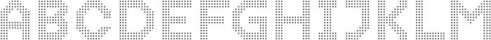 Dance Floor Dots otf (400) Font UPPERCASE