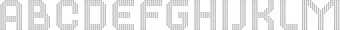Dance Floor Dots otf (400) Font LOWERCASE