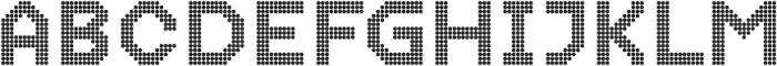 Dance Floor Double Octagon otf (400) Font LOWERCASE