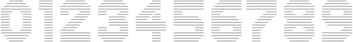Dance Floor Horizontal Outline otf (400) Font OTHER CHARS