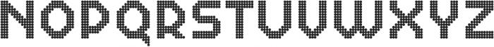 Dance Floor Lightbulbs otf (300) Font UPPERCASE