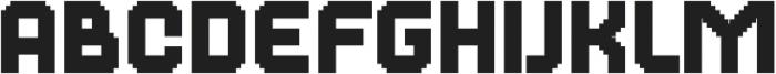 Dance Floor Mega otf (400) Font LOWERCASE