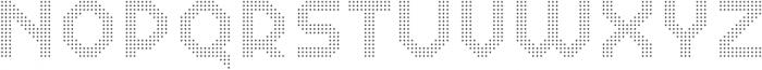Dance Floor Mini Diamond otf (400) Font LOWERCASE