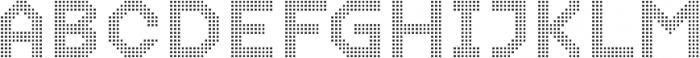 Dance Floor Mini Pixel otf (400) Font UPPERCASE