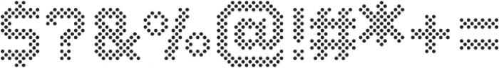 Dance Floor Polka Dots otf (400) Font OTHER CHARS