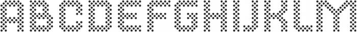 Dance Floor Polka Dots otf (400) Font LOWERCASE
