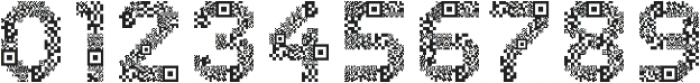 Dance Floor QR Code otf (400) Font OTHER CHARS