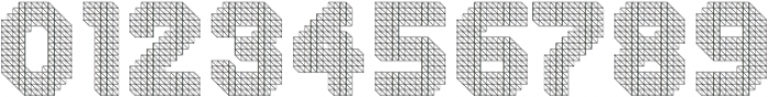 Dance Floor Structural otf (400) Font OTHER CHARS