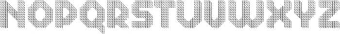 Dance Floor Structural otf (400) Font UPPERCASE