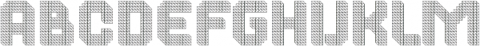 Dance Floor Structural otf (400) Font LOWERCASE