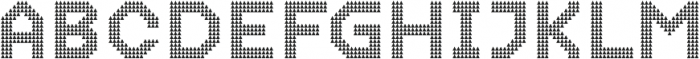 Dance Floor Triangles otf (400) Font LOWERCASE