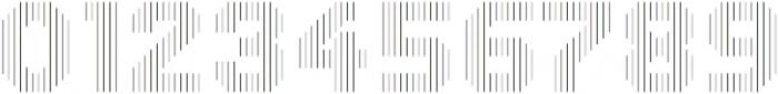 Dance Floor Vertical Outline otf (400) Font OTHER CHARS