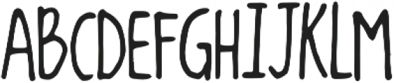 Dancing in the Minefields ttf (400) Font UPPERCASE
