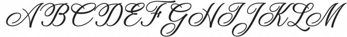 Dandelion Script Regular otf (400) Font UPPERCASE