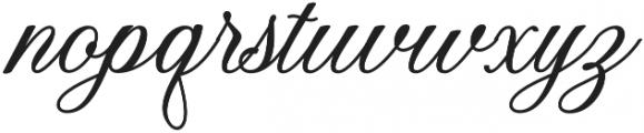 Dandelion Script Regular otf (400) Font LOWERCASE