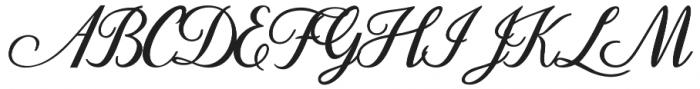 Dandelion Script otf (400) Font UPPERCASE
