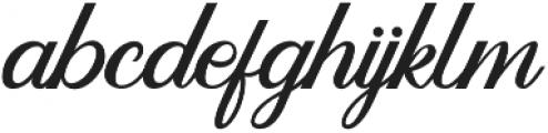 Dandelion Script otf (400) Font LOWERCASE