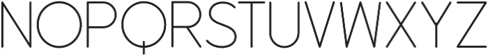 Dangle Thin Font otf (100) Font UPPERCASE