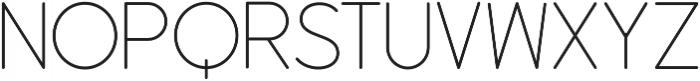 Dangle Thin Font otf (100) Font LOWERCASE