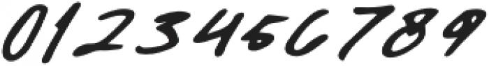 Daniels Signature otf (400) Font OTHER CHARS