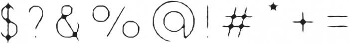 Danken Inner Stoned otf (400) Font OTHER CHARS
