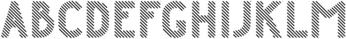 Danken Regular Lines Rounded otf (400) Font UPPERCASE