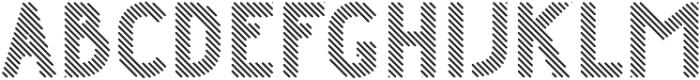 Danken Regular Lines Rounded otf (400) Font LOWERCASE