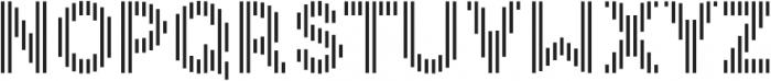 Danken Vertical otf (400) Font LOWERCASE