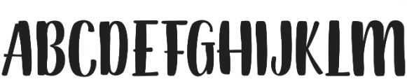 Dankita otf (400) Font UPPERCASE