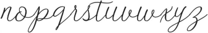 Danliny Script Bold Regular otf (700) Font LOWERCASE