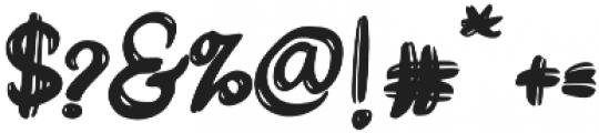 DareDarling otf (400) Font OTHER CHARS