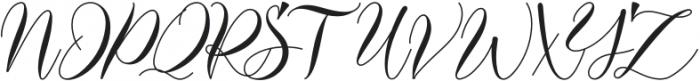 Darelina otf (400) Font UPPERCASE